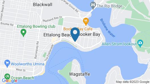 Ettalong Beach Tourist Resort Map