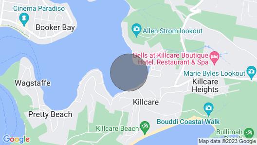Accommodation on a Luxury Yacht Map
