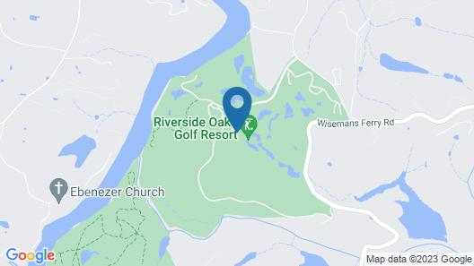 Riverside Oaks Golf Resort Map