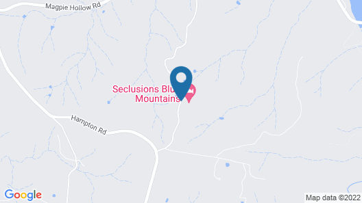 Seclusions Blue Mountains Map