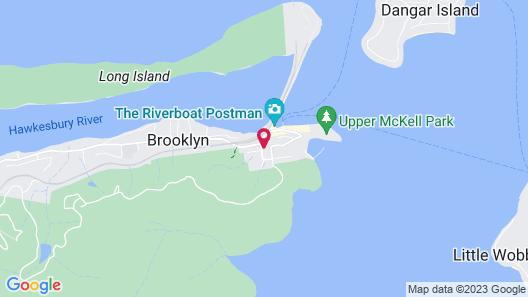 Brooklyn Motel Map