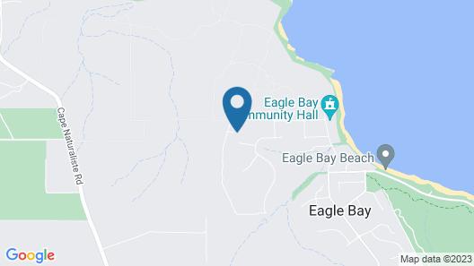 Eagle Bay House Map