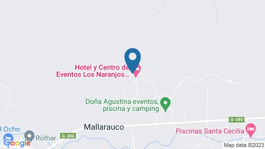 Los Naranjos de Mallarauco Map