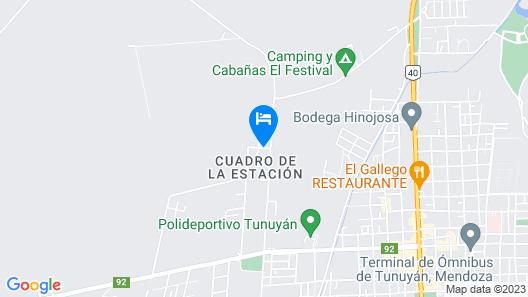 Cabañas Viejo Rincon Map