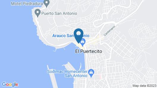 Hotel Casino San Antonio by Enjoy Map