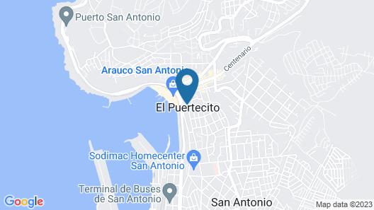 Hotel Terra Mia Map