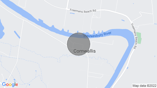 Hawkesbury Country Retreat Map