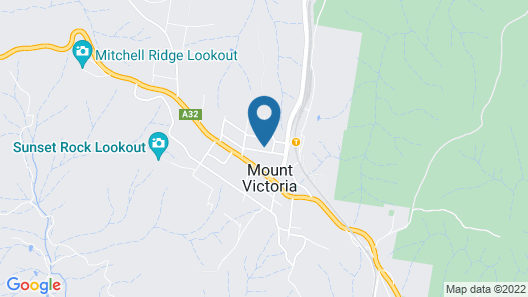 Hotel Etico at Mount Victoria Manor Map