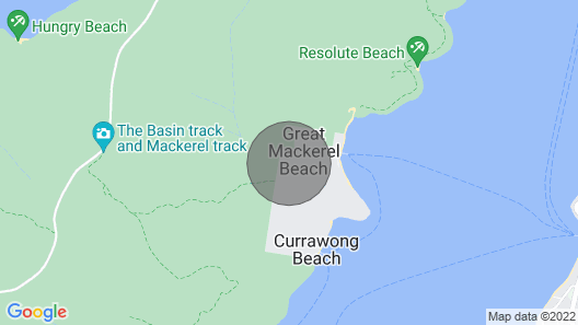 Sanctum - Great Mackerel Beach - Sydney Map