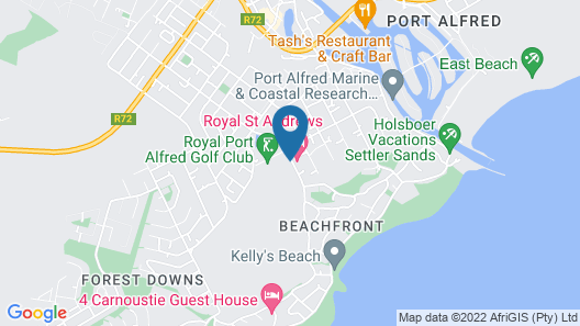 Royal St. Andrews Hotel, Conference Centre & Spa Map