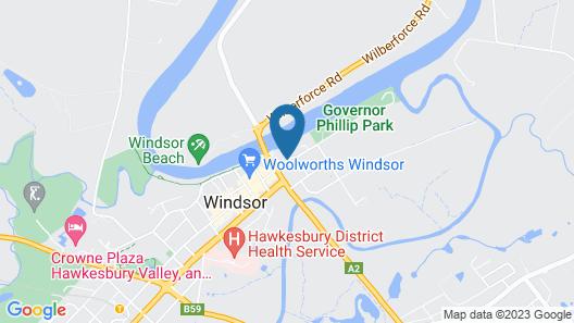 Windsor Terrace Motel Map