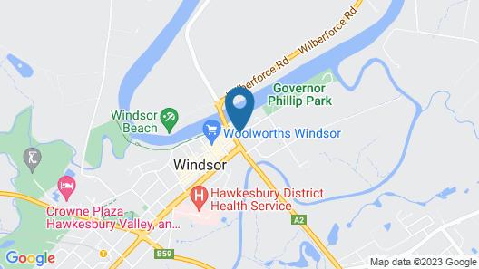 Windsor Motel Map