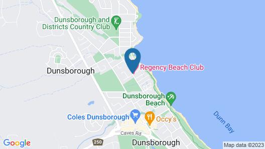 Regency Beach Club Map