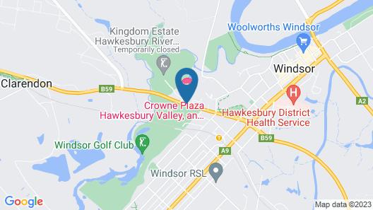 Crowne Plaza Hawkesbury Valley Map