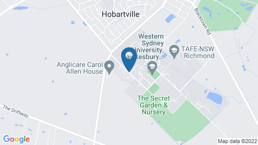 Western Sydney University Village Hawkesbury Map