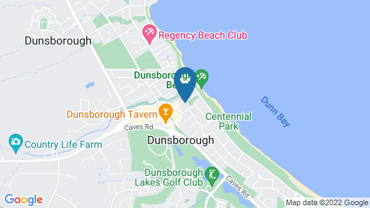Dunsborough Bay Village Resort Map