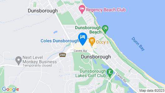 Dunsborough Central Motel Map