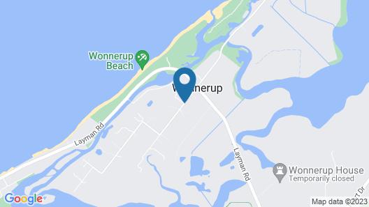Martin Fields Beach Retreat Map