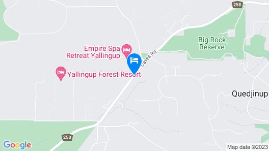 Empire Spa Retreat Map