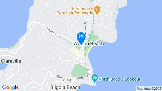 Avalon Beach Immersion Map