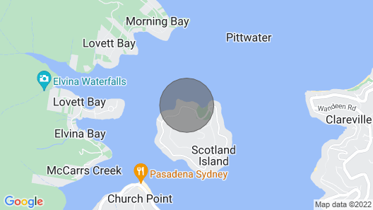 Island Paradise - Private Waterfront Retreat Map