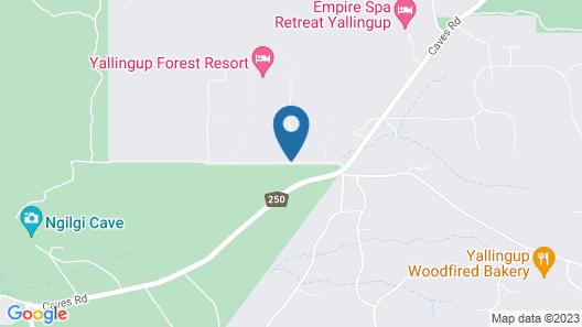 Yallingup Lodge Spa Retreat Map