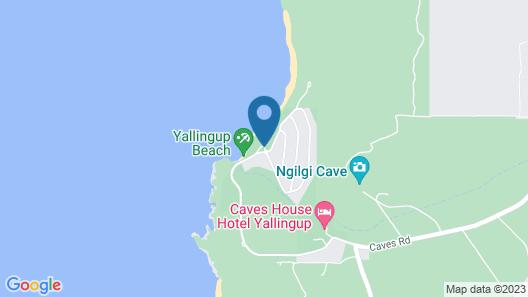 Yallingup Beach Resort Map