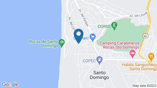 Casa Loreto Santo Domingo Map