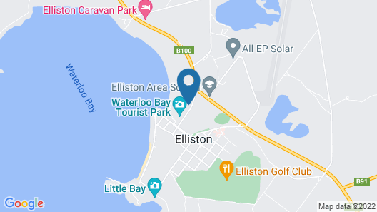 Elliston Caravan Park Map
