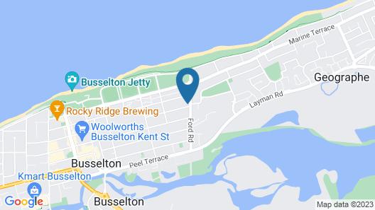 Busselton Holiday Units Map