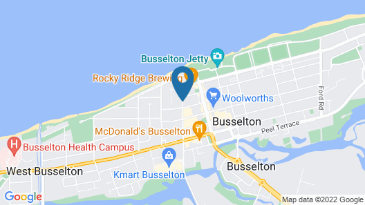 Jacaranda Guest House Map