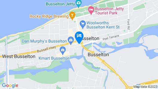 Ringtails Motel Map