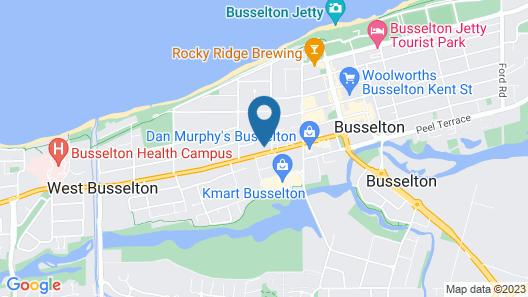 Busselton Motel Map