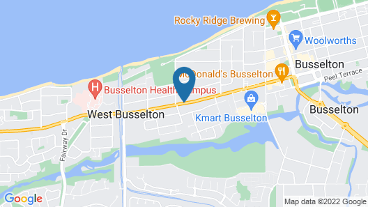 Baudins of Busselton B&B Map