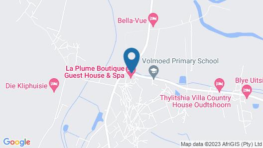 La Plume Boutique Guest House Map