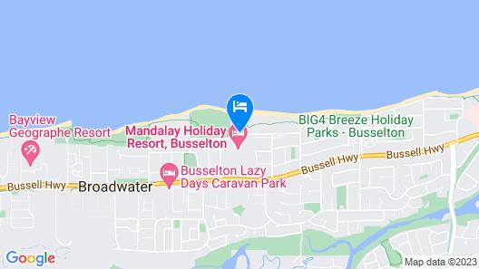 Mandalay Holiday Resort and Tourist Park Map