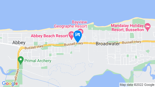 Bayview Geographe Resort Map