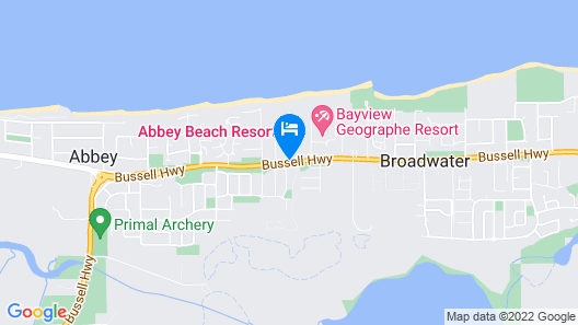 Abbey Beach Resort Map