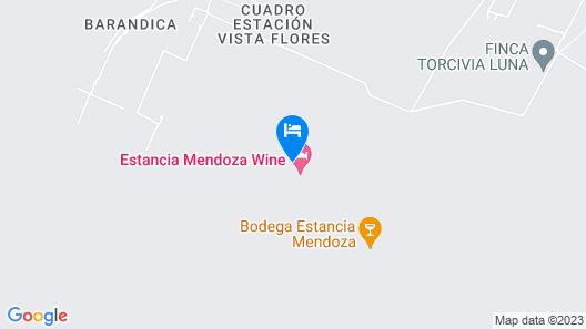 Estancia Mendoza Wine Hotel Map
