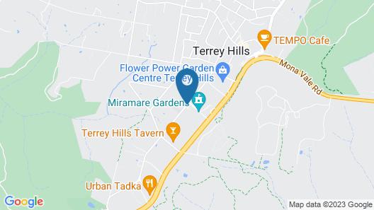 Miramare Gardens Map