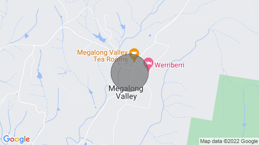 Megalong Valley, The Mill House Map