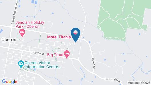 Titania Motel Map