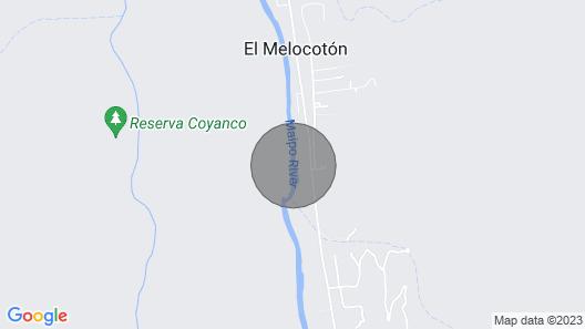 Cabaña Boutique - El Jardin San Alfonso Map