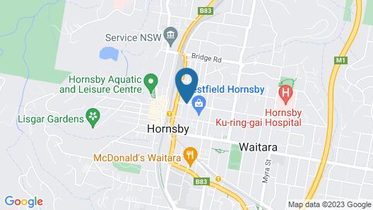 Hornsby Inn Map