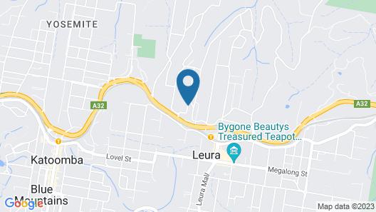 Bethany Manor Bed & Breakfast Map