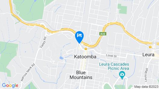 Blue Lyrebird Co-Living Blue Mountains Map