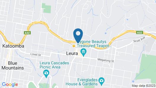 Leisure Inn Spires Map