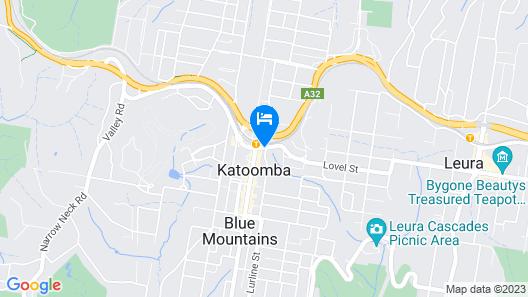 Metropole Katoomba Map