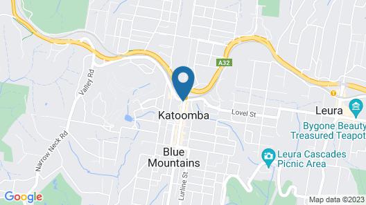 Katoomba Furnished Apartments Map