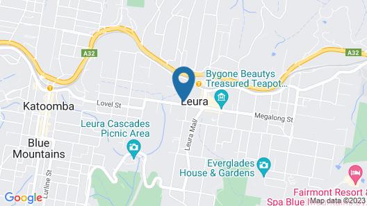 Leura Bungalow Map